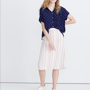 Madewell ~ Central Shirt in Polka Dot